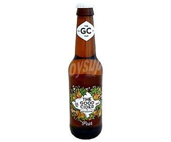 The Good Cider Sidra con zumo de manzana y pera, elaborada en San Sebastian Botellín de 33 cl