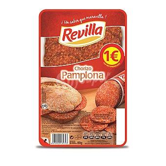 Revilla Chorizo de Pamplona en lonchas Envase 85 g