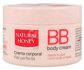 Natural Honey Crema corporal BB piel perfecta Tarro 250 ml