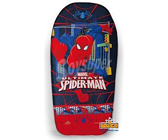 Marvel Tabla de body board recubieta de PVC de 84 centímetros y con imágenes de spiderman Body board Spiderman