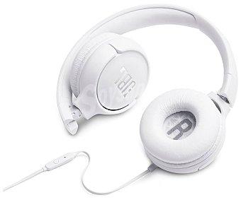 JBL Auricular tipo diadema tune 500, micrófono, color blanco