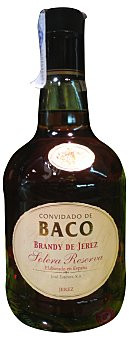 C. de Baco Brandy solera reserva Botella 700 cc