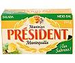 Mantequilla con sal Envase 250 g President