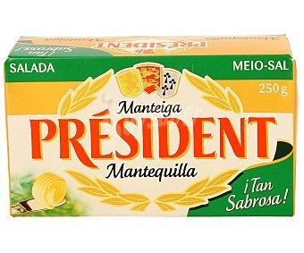 President Mantequilla con sal Envase 250 g