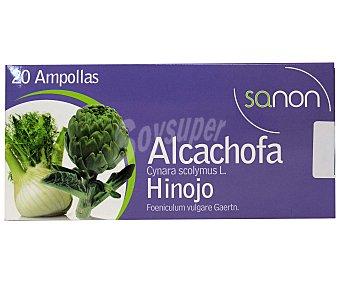 ALCACHOFA + HINOJO Complemento alimenticio a base de alcachofa e hinojo, 20 Ampollas