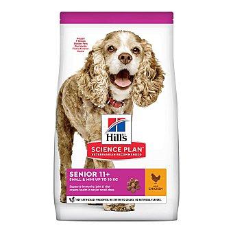 Hill's Science plan senior mini pienso para perros de raza pequeña y miniatura de + 11 años Bolsa 1,5 kg