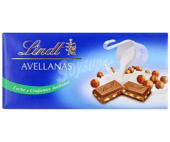 Lindt Chocolate con leche y avellanas Tableta 100 g