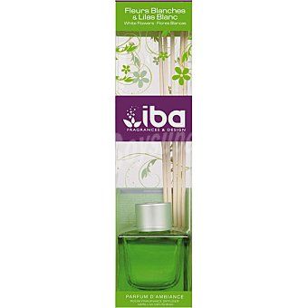 Iba Ambientador en varillas aromaticas Flores Blancas envase 40 ml Envase 40 ml