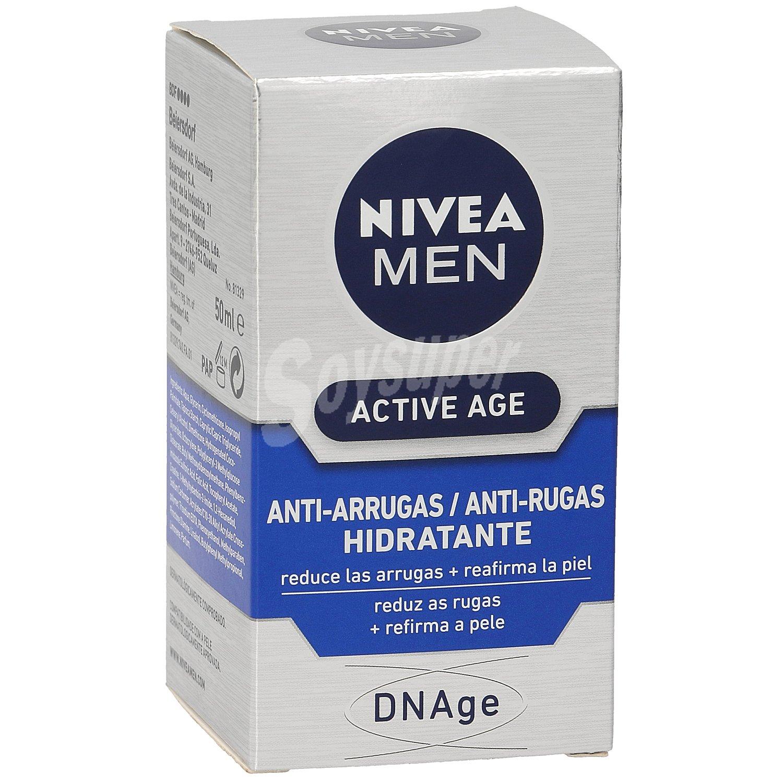 Nivea For Men Crema antiarrugas hidratante para hombre 50 ml