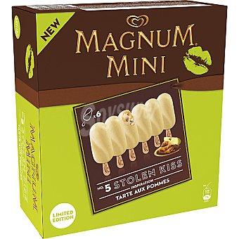 Magnum Frigo Mini bombón helado de tarta de manzana Mini 5 Kisses Stolen estuche 300 ml 6 unidades
