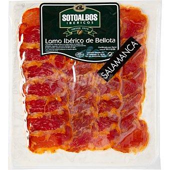 SOTOALBOS Lomo ibérico de bellota en lonchas Sobre 120 g