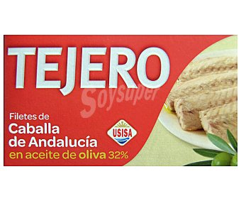 Tejero Fte.caballa aceite oliva (80 PE) Lata 125 gr