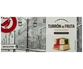 PRODUCTO ALCAMPO Turrón de frutas 250 g