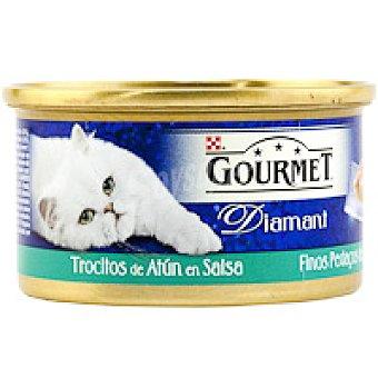 Purina Gourmet Comida para gatos Salsa de atún Diamant Lata 85 g