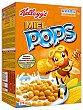 Cops de maíz inflado con miel y azúcar  Caja 375 g Miel Pops Kellogg's