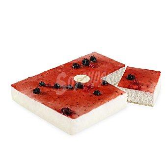 Tarta de queso con frutos rojos 1 ud 1 ud