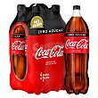 Bebida de cola Pack 4 pet x 2 l Coca-Cola Zero
