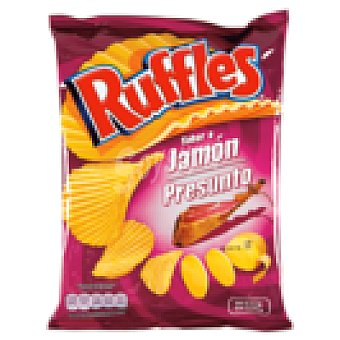 Lay's ruffles jamón bolsa 110 GR