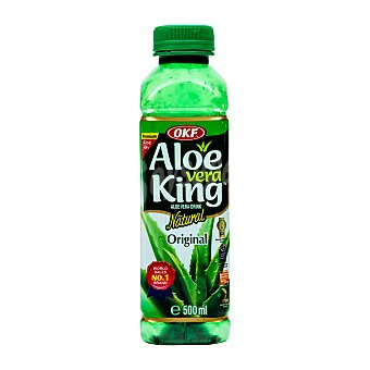OKF Bebida aloe vera natural Botella 500 ml