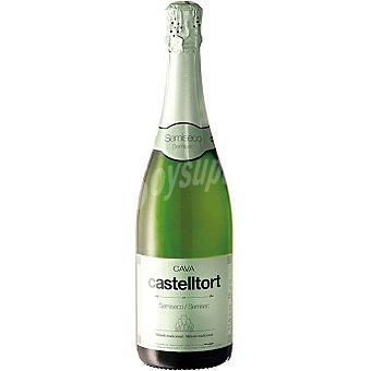 CASTELLTORT Cava semiseco elaborado para grupo El Corte Inglés Botella 75 cl