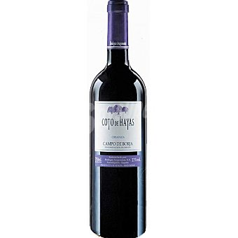 Coto de hayas Vino tinto crianza D.O. Campo de Borja Botella 75 cl