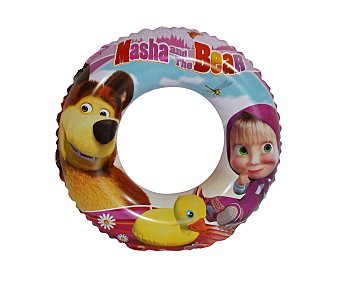 Saica toys Flotador de Masha y el Oso de 50 centímetros, recomendado para niños de 3 a 6 años 1 unidad