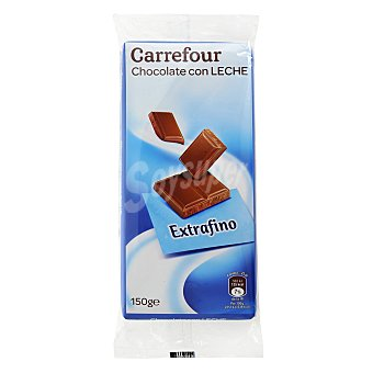 Carrefour Chocolate con leche extrafino Pack de 3x150 g