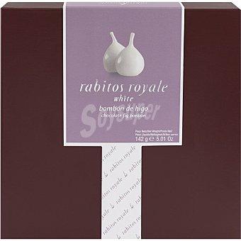 la Higuera Rabitos Royale bombón de higo con chocolate blanco 8 unidades Estuche 142 g