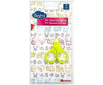 BABY Tijeras uñas para bebé, color verde baby