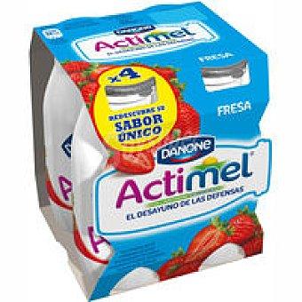 Actimel Danone Actimel Fresa Pack 4x100ml