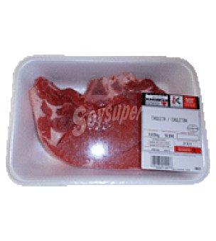 Carrefour Chuletón de ternera label