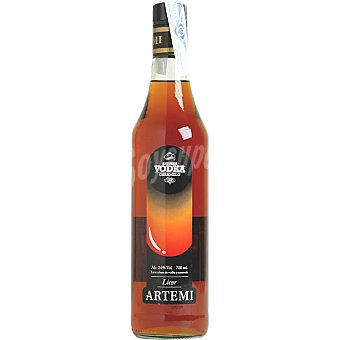Artemi Licor de vodka caramelo botella 75 cl 75 cl