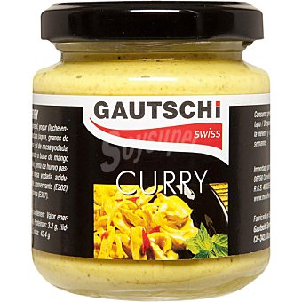 GAUTSCHI Salsa de curry Frasco 115 g