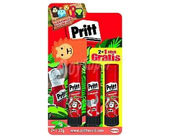 Pritt Barras de pegamento  3 unidades