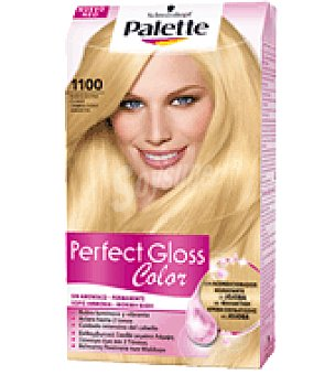 Palette Tinte Perfect Gloss Color 1100 Rubio Extra Claro 1 ud