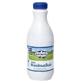 Central Lechera Asturiana Leche semidesnatada botella 1,5 l