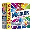 Detergente máquina polvo Maleta 25 cacitos Micolor