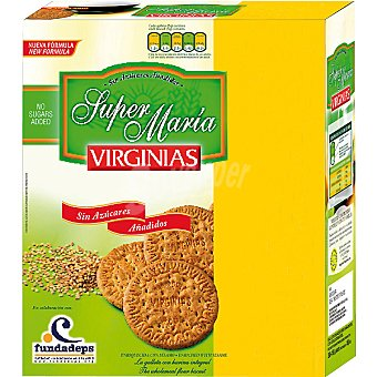 VIRGINIAS Super María Galletas sin azúcares añadidos y bajas en sal Paquete 540 g