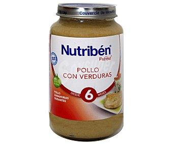 Nutribén Nutriben Tarrito pollo con verduras 250 g