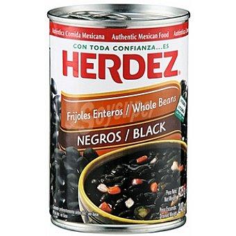 Herdez Frijoles negros enteros Lata 240 g neto escurrido