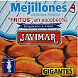 Mejillones fritos en escabeche gigantes Javimar 156 g Javimar