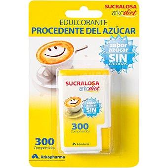 Arkopharma Sucralosa edulcorante procedente del azucar sin calorias caja 300 comprimidos 300 comprimidos