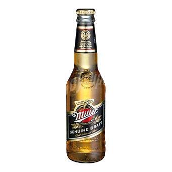 MILLER Cerveza americana rubia botella 33 cl