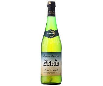 Zelaia Sidra Natural Botella de 75 Centilítros
