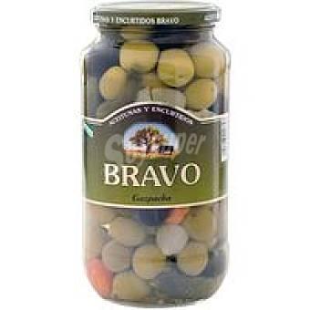 Bravo Aceitunas gazpachas Frasco 550 g