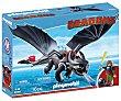 Escenario de juego Hipo y Desdentao con accesorios, Dragons 9246 playmobil  Playmobil