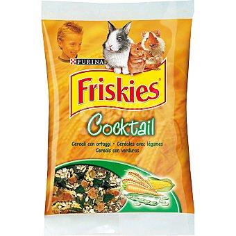 FRISKIES COCKTAIL Alimento completo con cereales y verduras para roedores Paquete 400 g