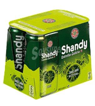 Estrella Galicia Cerveza Shandy Pack de 6x33 cl