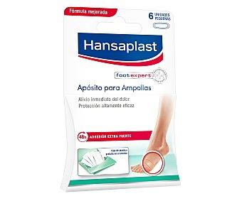 Hansaplast Apósito para ampollas de los pies (alivia el inmediato dolor) 10 unidades