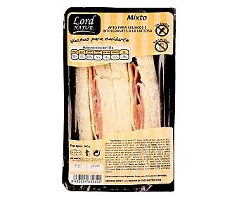 Lord Sandwiches Sándwich mixto sin gluten y sin lactosa 142 gramos